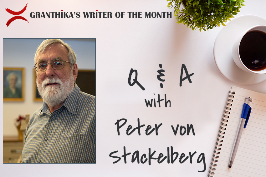 Writer of the Month: Q&A with Peter von Stackelberg
